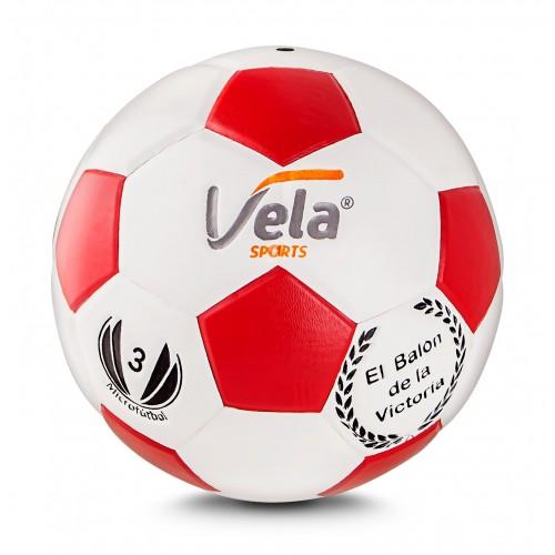 Balón de Micro No. 3 Ref. GM80 Vela Blanco-Rojo