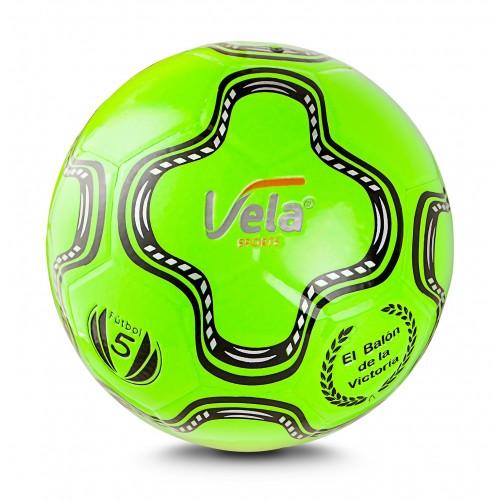 Balón Fútbol No.5 Verde Neón Ref. GA44