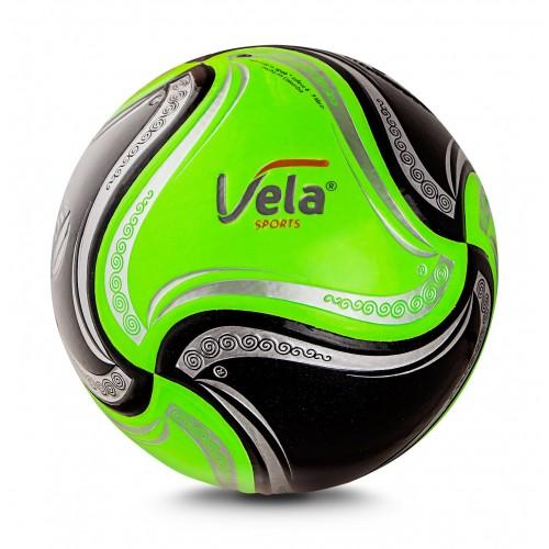 Balón Vela Fútbol No.5 Verde y Negro Ref. GA45