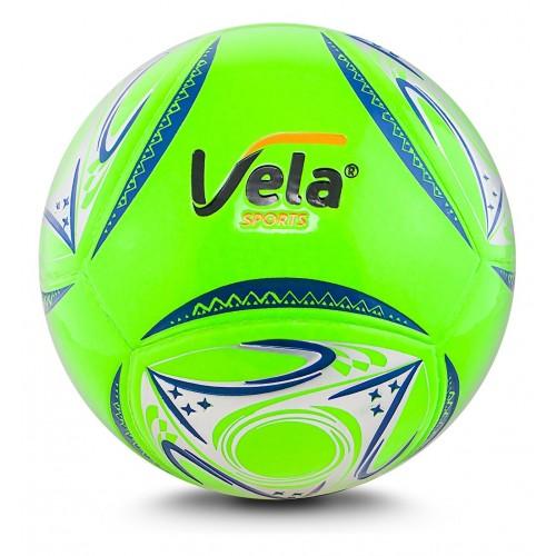 Balón de fútbol No. 5 Verde neón Ref. GA168 Vela
