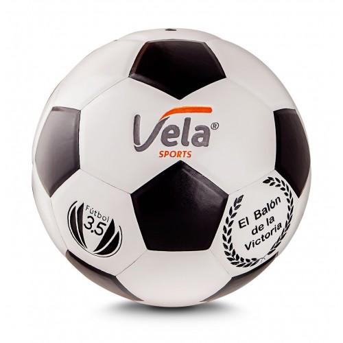 Balón Vela Fútbol No. 3.5 Ref. GM67 Blanco y negro