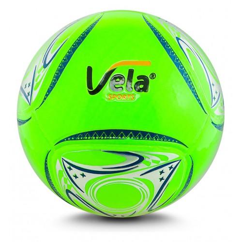 Balón fútbol No. 4 Vela Verde neón Ref. GA179