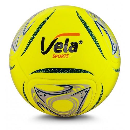 Balón de fútbol No. 4 Vela Amarillo neón Ref. GA180